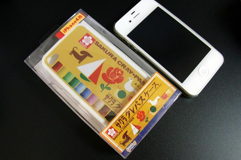 サクラクレパスiPhone4ケース