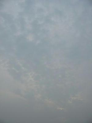 7月7日朝5時50分の空