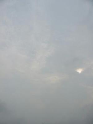 7月7日朝7時7分の空