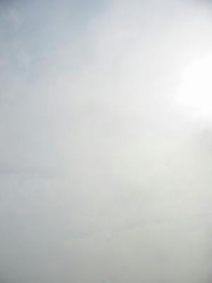 7月12日朝8時ごろの空