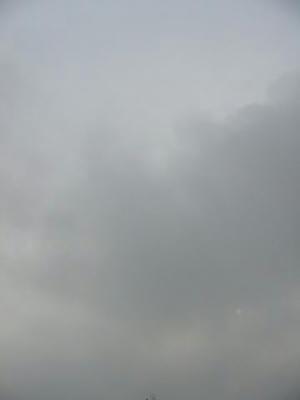 7月13日朝6時ごろの空