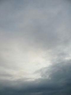 7月31日朝6時ごろの空