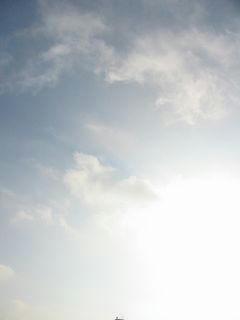 8月1日朝6時半ごろの空