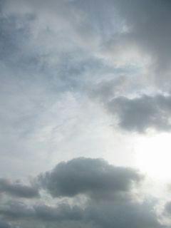 8月3日朝7時ごろの空