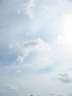8月3日朝8時半ごろの空