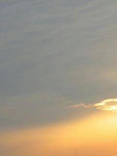 8月16日の夕焼け01