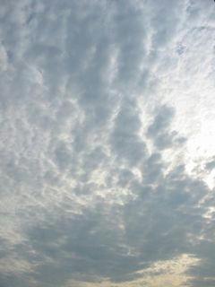 8月17日朝7時20分ごろの空