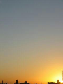 9月21日朝5時半ごろの空