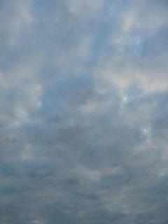 10月11日朝6時ごろの空01