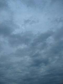 10月13日朝5時半ごろの空01