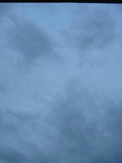 10月13日朝5時半ごろの空02