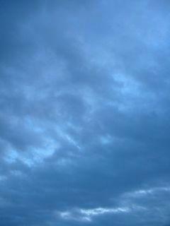 10月17日朝6時ごろの空