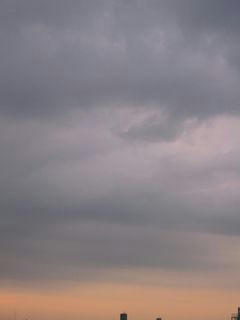 10月19日朝5時半ごろの空02