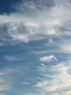 10月20日朝6時半ごろの空