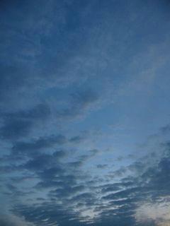 10月23日朝5時半ごろの空01