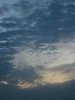 10月23日朝5時半ごろの空02