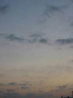 10月24日朝5時半ごろの空02