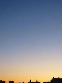 10月28日朝5時半ごろの空02