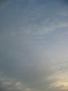 10月29日朝5時半ごろの空01