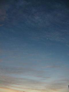 10月29日朝5時半ごろの空02
