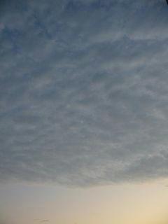 11月5日朝5時50分ごろの空01