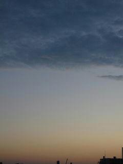 11月5日朝5時50分ごろの空02