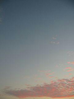 11月5日朝5時50分ごろの空03