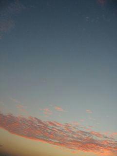 11月5日朝5時50分ごろの空05