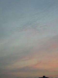 11月9日朝6時過ぎの空03