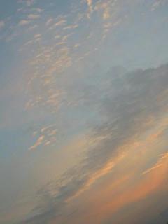 11月9日朝6時10分ごろの空02