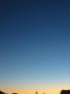 11月19日朝5時半ごろの空02