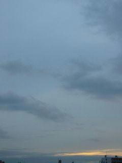 11月20日朝6時ごろの空02