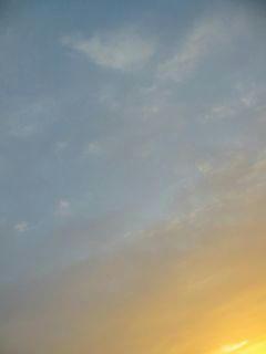 11月20日朝6時半ごろの空04