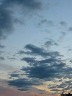 11月23日朝6時ごろの空02