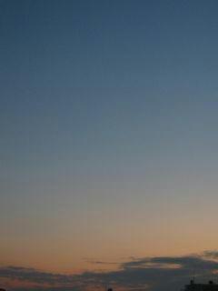 12月1日朝6時ごろの空02