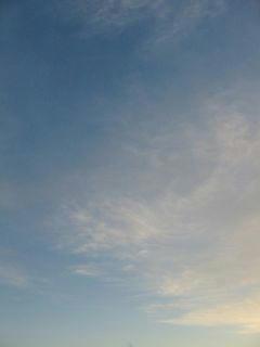 12月2日朝6時40分ごろの空01