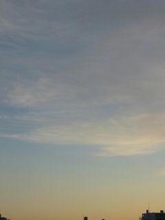 12月2日朝6時40分ごろの空02