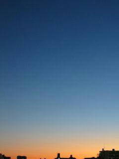 12月6日朝6時ごろの空02