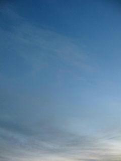 12月19日朝6時半ごろの空01
