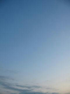 12月20日朝6時半ごろの空