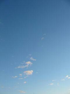 1月3日朝7時ごろの空01