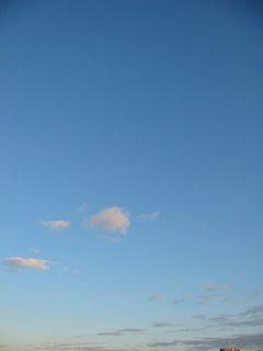 1月3日朝7時ごろの空02