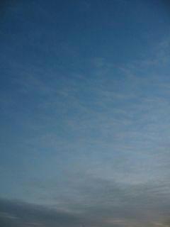 1月7日朝6時半ごろの空01