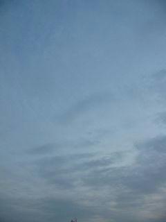 1月7日朝6時50分ごろの空01