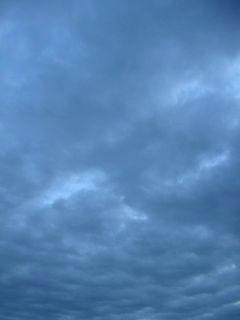 1月13日朝6時半ごろの空01