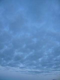 1月13日朝6時半ごろの空02