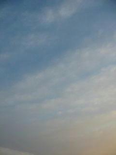 1月19日朝7時10分ごろの空01