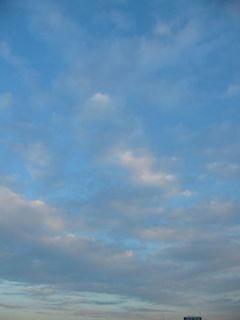 2月7日朝7時ごろの空02