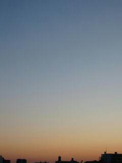 2月20日朝6時ごろの空02