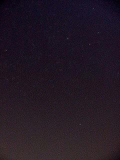 2月20日夜10時20分ごろの空